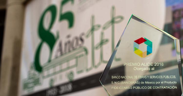 Banobras fue reconocido por el diseño del Fideicomiso Público de Contratación (FPC)