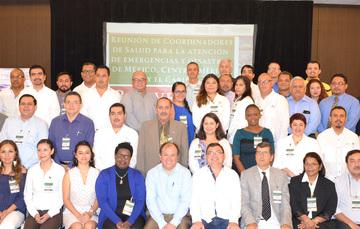 Reunión de Coordinadores de Emergencias y Desastres del Sector Salud de Centroamérica, el Caribe y México