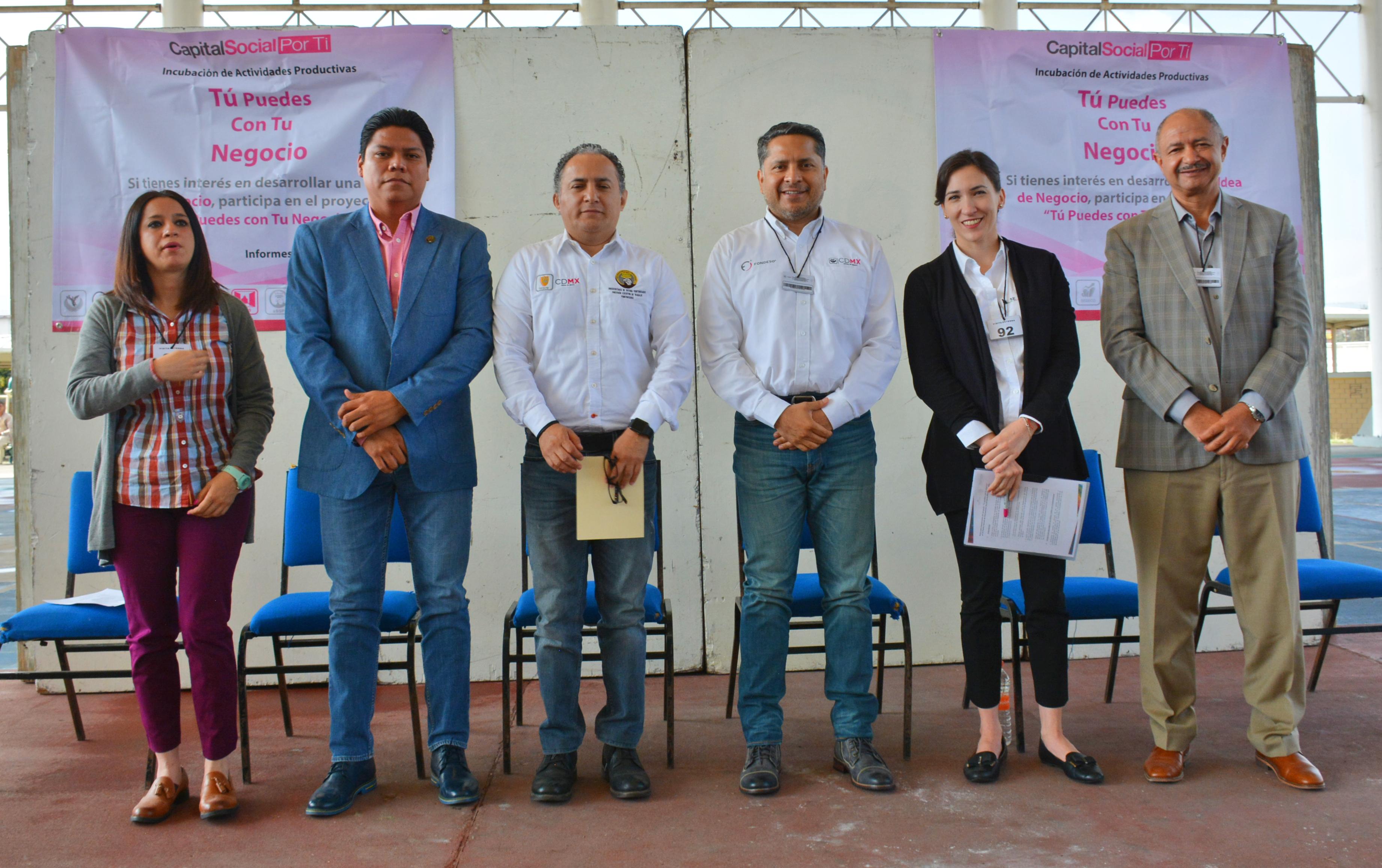 Desde 2016, el PRONAFIM ha trabajado con el Gobierno de la Ciudad de México para que mediante incubaciones y acceso a financiamiento, aumenten las oportunidades de las personas en proceso de reinserción social.