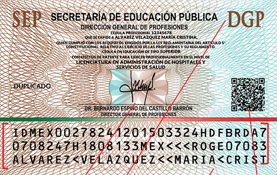 Expide Sep Nueva Cédula Profesional Secretaría De Educación