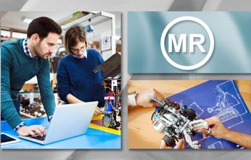 Jóvenes emprendedores trabajan en un prototipo