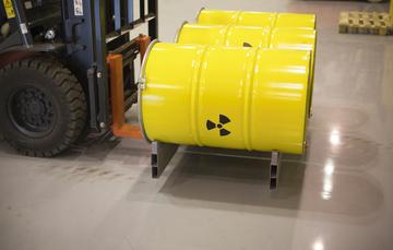 Transporte de material radiactivo