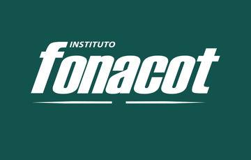Imagen que muestra las siglas del Instituto Fonacot sobre un fondo verde