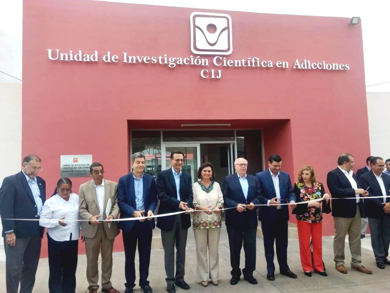 Inauguraron la Unidad de Investigación Científica en Adicciones en ese estado