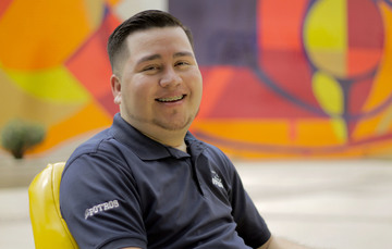 Abel Gutiérrez Ramos, joven ganador del Premio Nacional de la Juventud