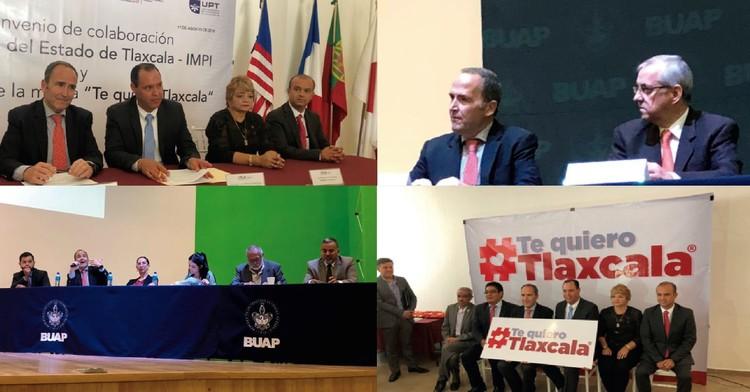 IMPI fortalece alianzas de cooperación en Puebla y Tlaxcala en materia de propiedad industrial