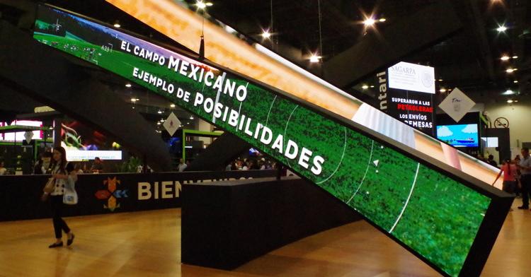 Foto de Stand de bienvenida México Alimentaria 2018