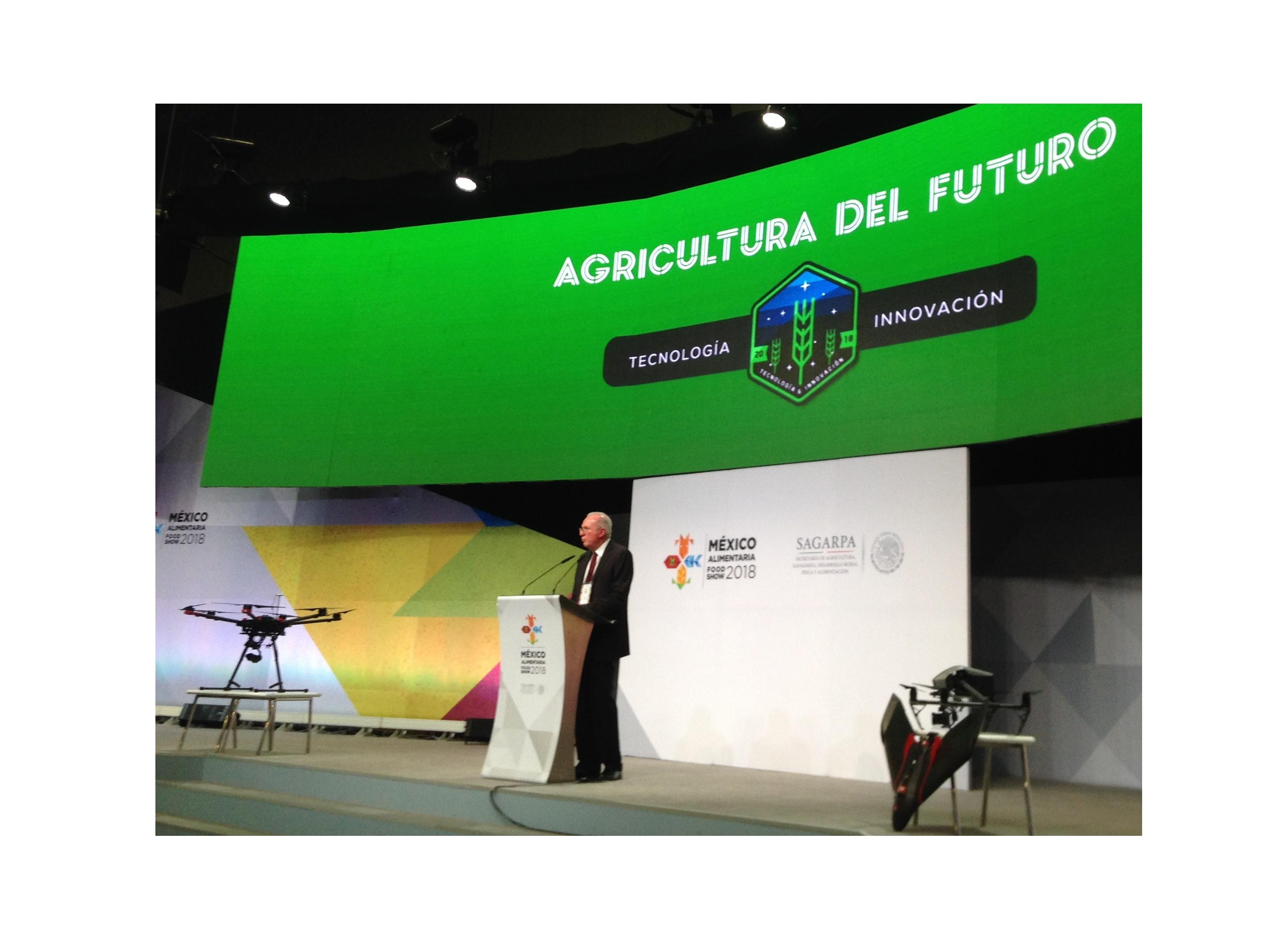 20180819 agricultura del futuro aem presente en la expo m xico alimentaria 2018