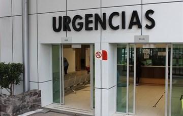 Entrada al área de urgencias del Hospital General Dr. Manuel Gea González