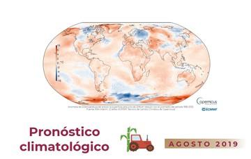 Pronóstico climatológico - Aviso No. 007 agosto 2019