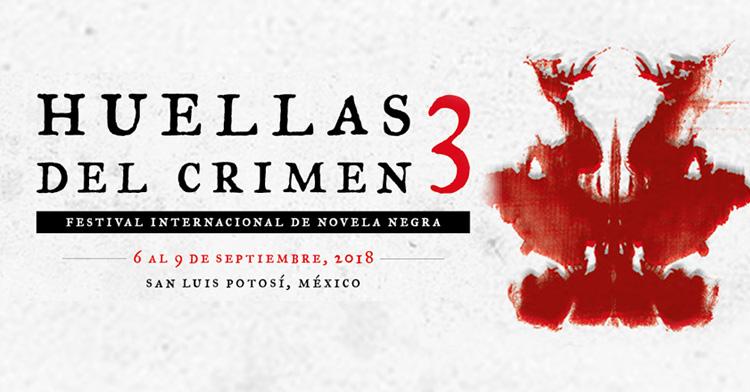 Banner del Festival Internacional de Novela Negra. Huellas del Crimen 3