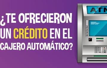 Crédito en el cajero automático