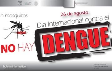 Día Internacional contra el Dengue - 26 de agosto