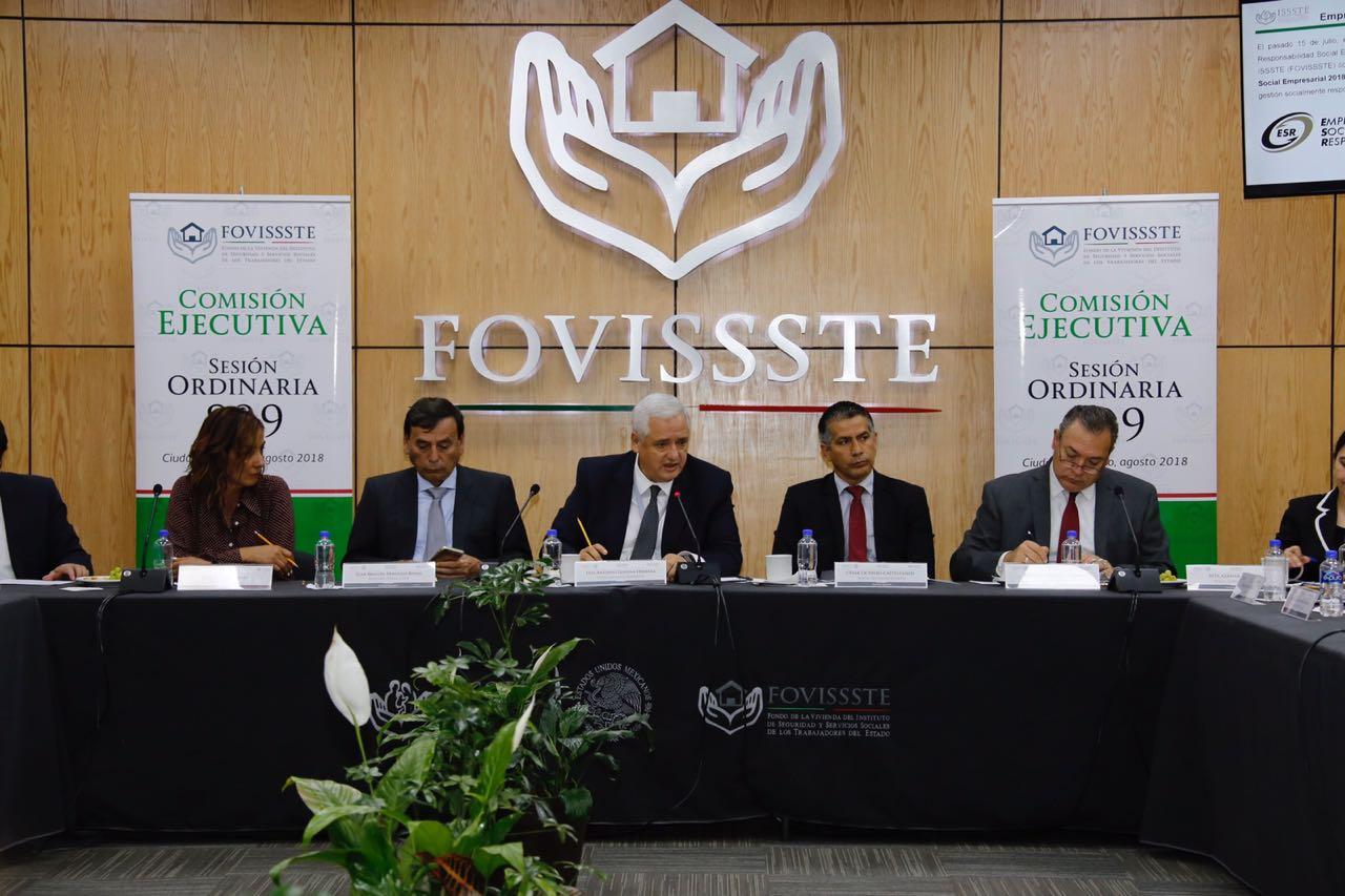 Realiza FOVISSSTE sesión ordinaria 899 de la Comisión Ejecutiva | Fondo de  la Vivienda del Instituto de Seguridad y Servicios Sociales de los  Trabajadores del Estado | Gobierno | gob.mx