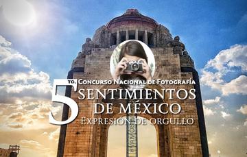 Imagen alusiva al 5to concurso de fotografía Sentimientos de México