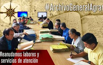 Sala de Consulta del Archivo General Agrario (AGA)