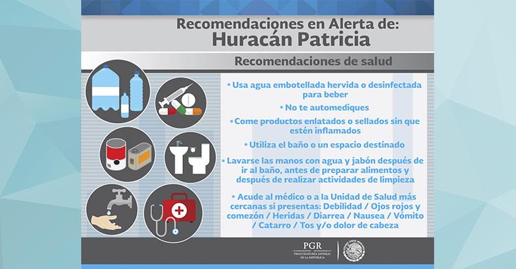 #HuracánPatricia.