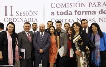 II Sesión Ordinaria de la Comisión para Poner fin a toda forma de Violencia Contra Niñas, Niños y Adolescentes (COMPREVNNA).