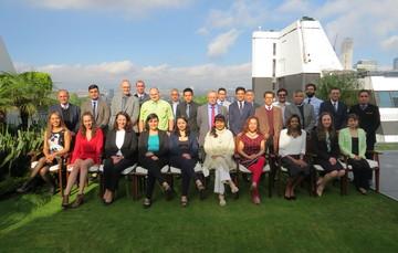Ponentes y participantes del taller