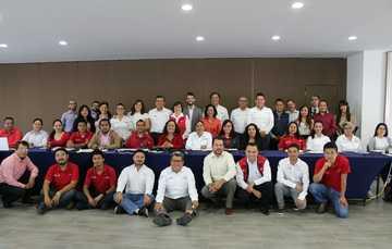 """En la cuidad de Puebla se llevó a cabo la """"Reunión nacional de formación a responsables estatales del proyecto Aprendizaje sin fronteras""""."""