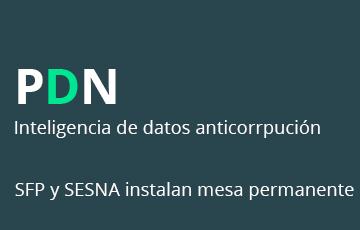 SFP Y SESNA instalan mesa permanente