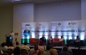 FIRA participa en Foro de desarrollo sustentable y agua