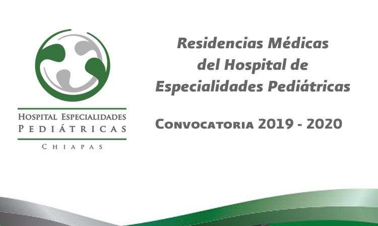 Convocatoria 2019 - 2020