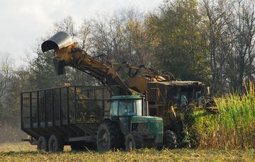 Camión recolector de residuos orgánicos