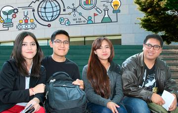 imagen de estudiantes