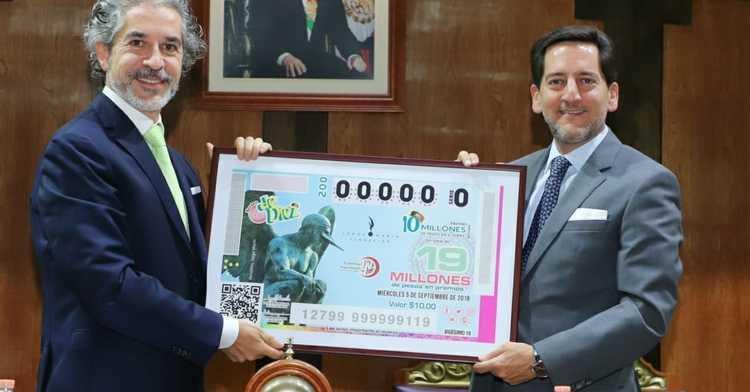 La Lotería Nacional para la Asistencia Pública (LOTENAL) dedicó su Sorteo de Diez No. 200 a la labor que realiza la Fundación Jorge Marín