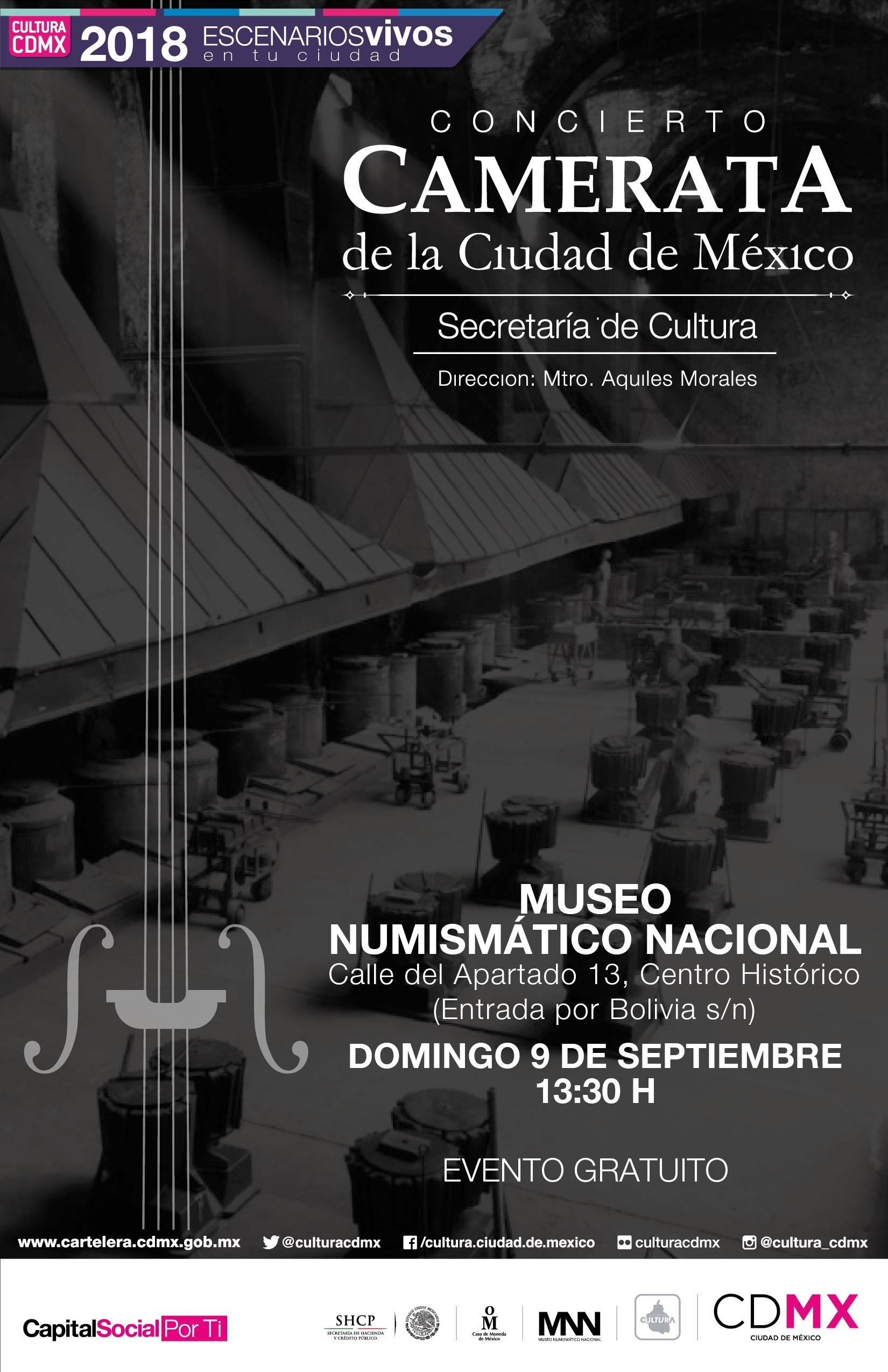 Concierto Camerata de la Ciudad de México