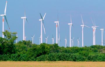 Campo donde se produce energía utilizando el aire