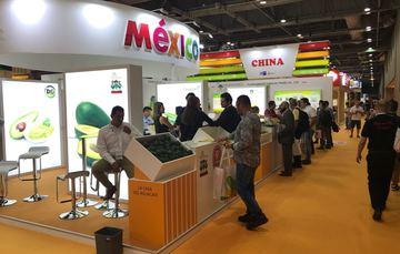 Stand de México en Hong Kong