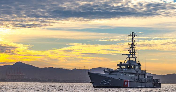 Buque de la Armada de México