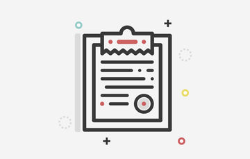 Ilustración de una tablilla sosteniendo un documento