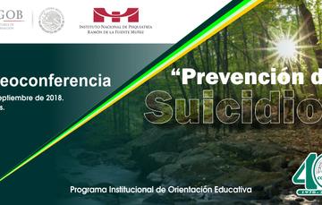 Videoconferencia: Prevención del Suicidio