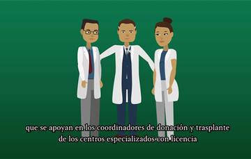 Los pacientes que requieren un trasplante, se registran en la base de datos del sistema del Registro Nacional de Trasplantes por su médico tratante.