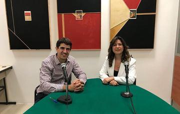 Tom Long y Natalia Saltalamacchia