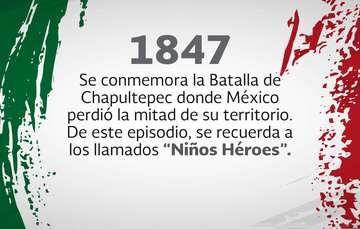 13 de septiembre Aniversario de la batalla del Castillo de Chapultepec y los Niños Héroes.