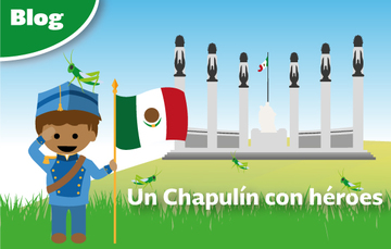 Un Chapulín con héroes
