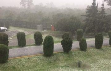 Lluvias importantes en la Ciudad de México