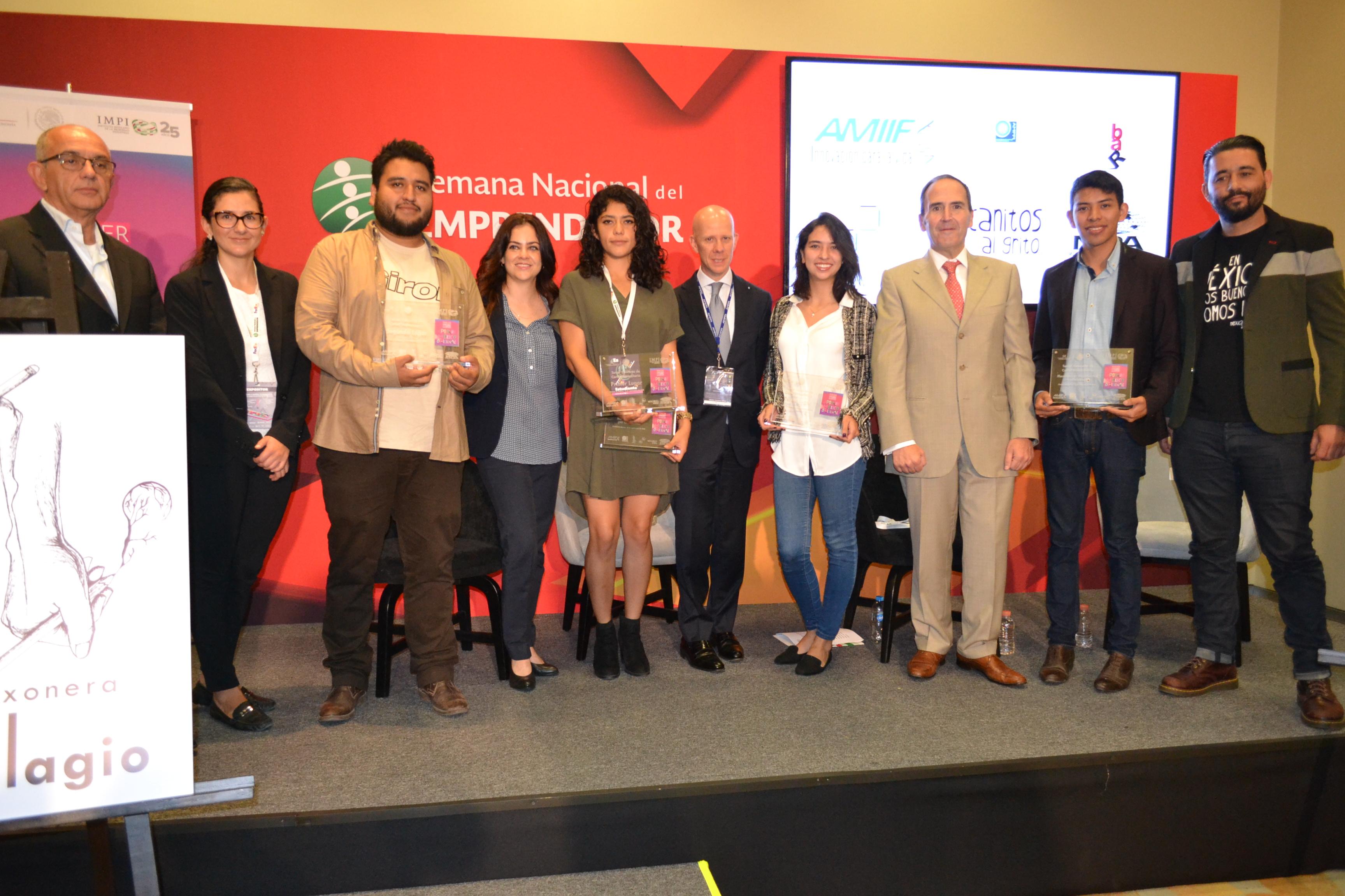 "Premia IMPI a ganadores del  Tercer Concurso de Cartel Universitario  ""Por un México Original"""