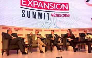 Paulo Carreño King, durante el Expansión Summit
