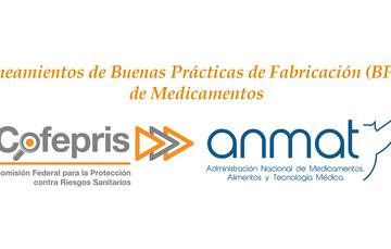 La ANMAT y la COFEPRIS han acordado un mecanismo conjunto que permite realizar el intercambio de actas o informes de inspección de BPF de laboratorios fabricantes de medicamentos ubicados en México o Argentina