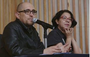 Juan Mario Ramos y Marlene Romo.