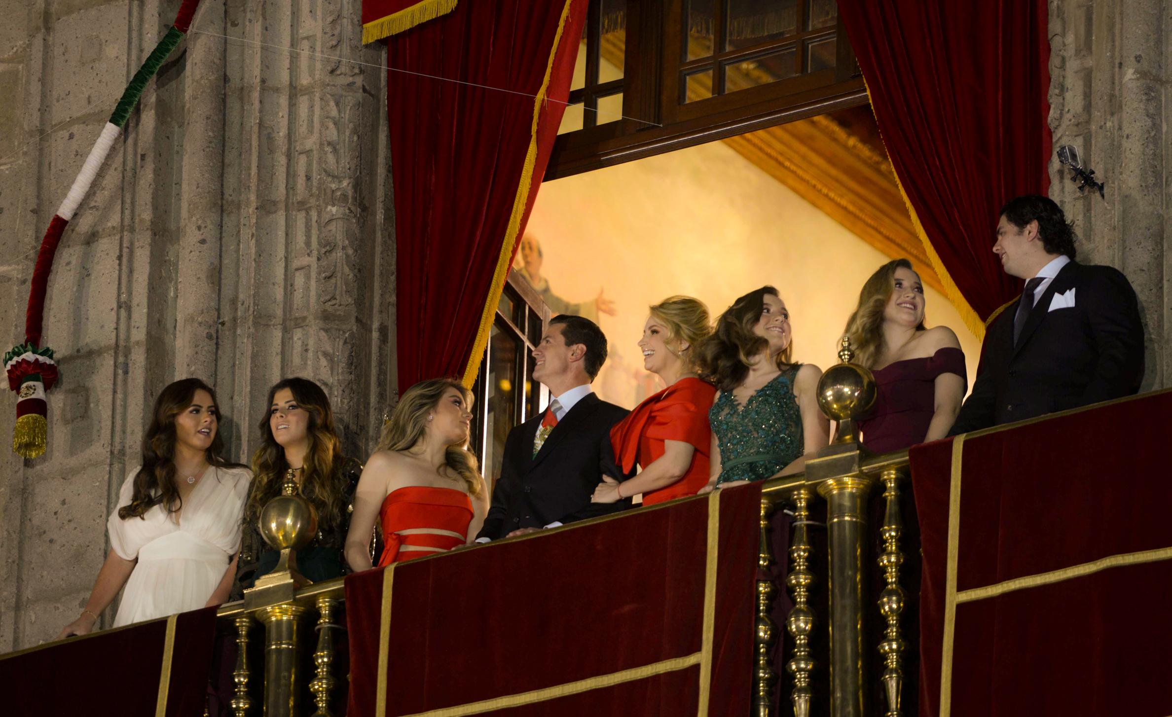 Ceremonia Del Grito De Independencia Presidencia De La Republica