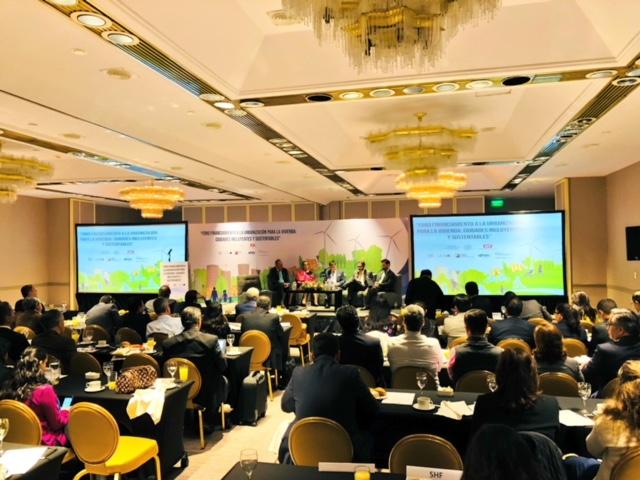 """Foro: """"Financiamiento a la urbanización para la vivienda, oportunidad para ciudades incluyentes y sustentables"""""""