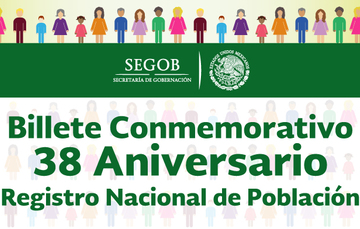 Aniversario de la Dirección General del Registro Nacional de Población e Identificación Personal