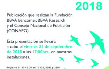 Invitación Anuario de migración y remesas 2018. MIDE