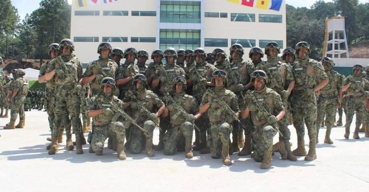 El Centro de Entrenamiento Avanzado de la Armada de México,